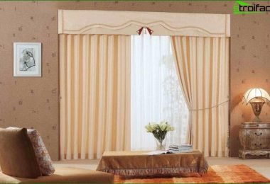 Curtains for the living room (50 pics)