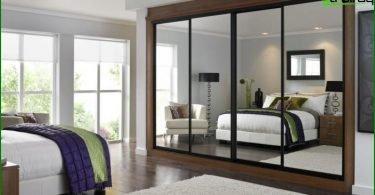 Bedroom Design. Billeder, belysning og indretning af moderne soveværelse