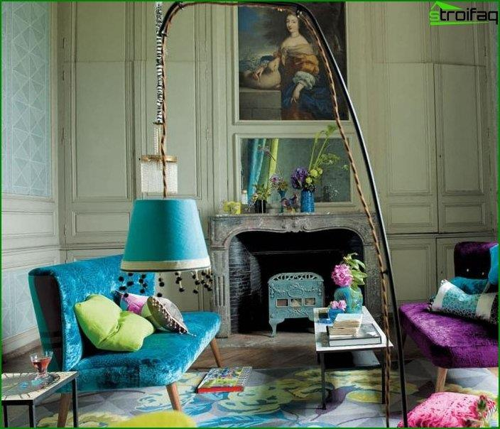 Interior in eclectic style 4