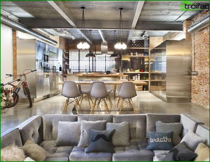 Interior in loft style 2