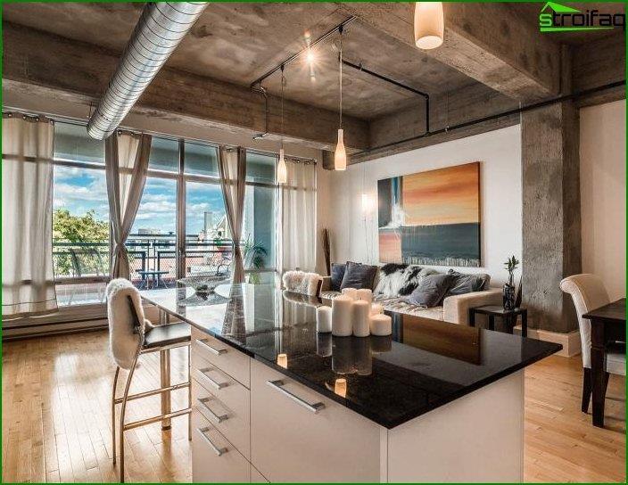 Loft style interior 3