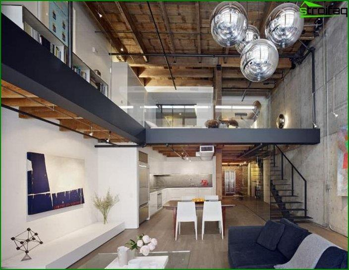 Loft style interior 4
