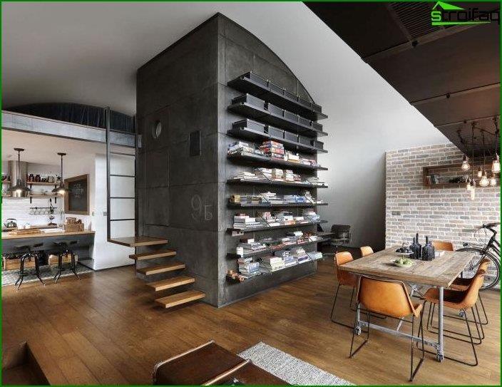 Loft style interior 6