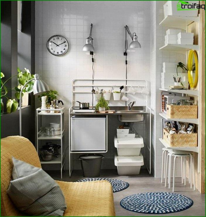 Kitchenette in the interior 4