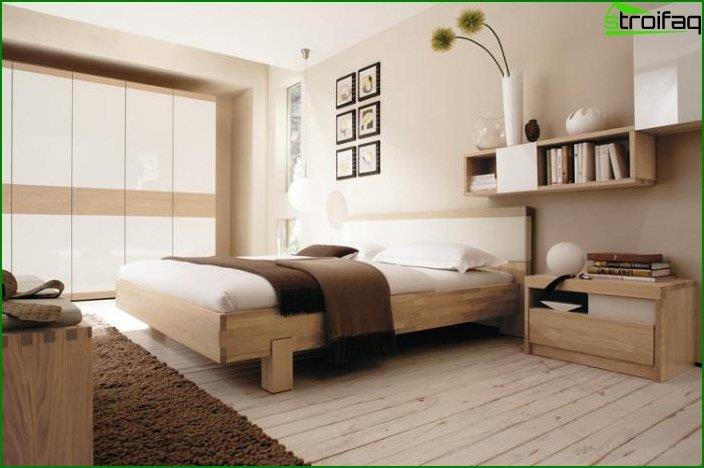 Modern bedroom interior 1