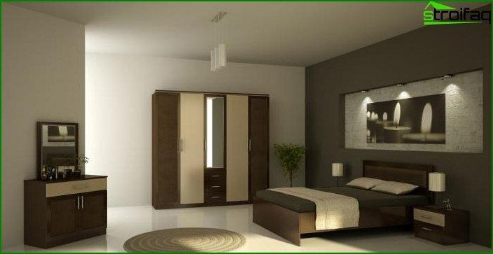Modern bedroom interior 2