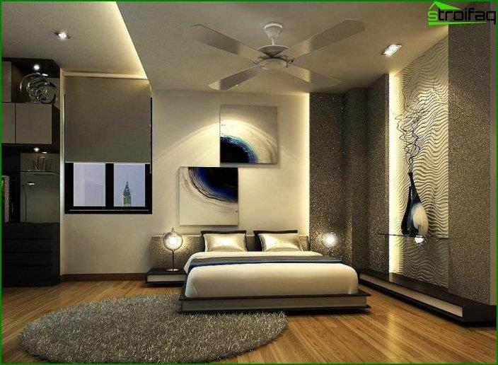 Modern bedroom interior 4