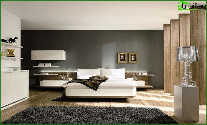 Modern bedroom interior 6