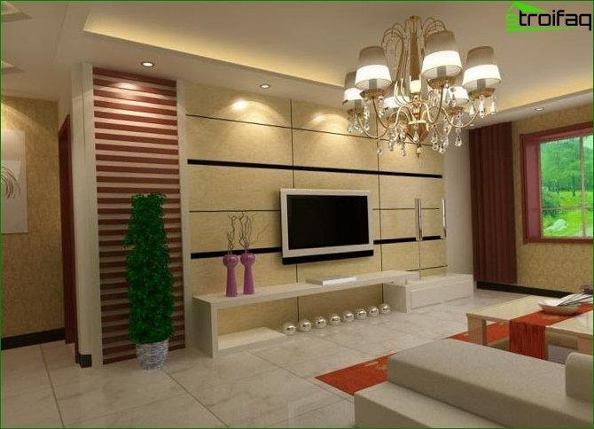Photo living room design