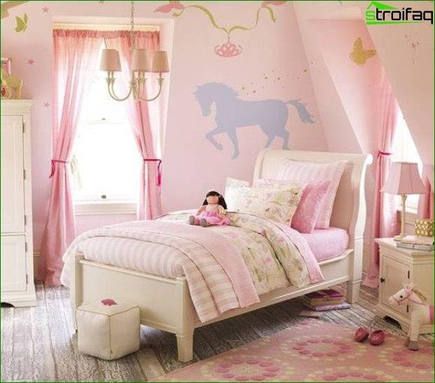 Photo children's princess room