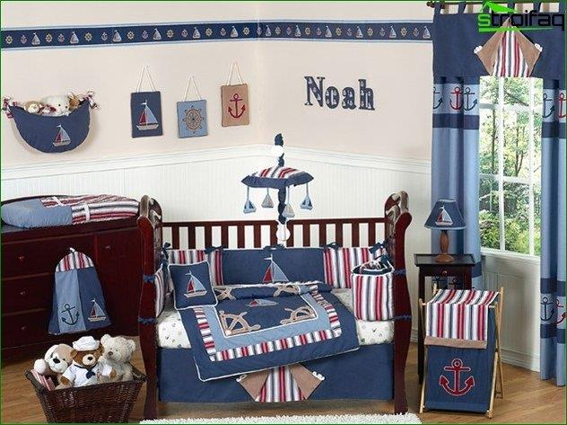 Design a child's room for a boy