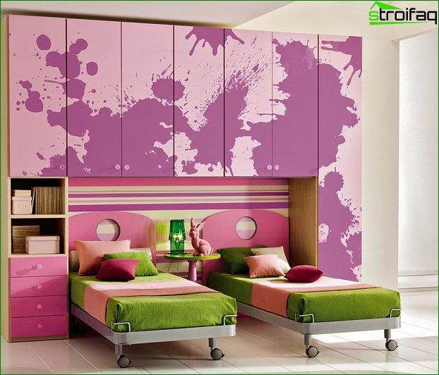 Children's Room of average size 2
