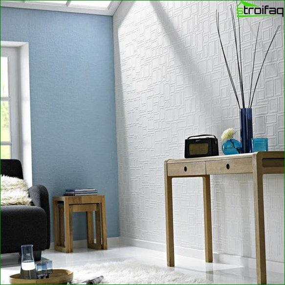 Paintable wallpaper for bedroom