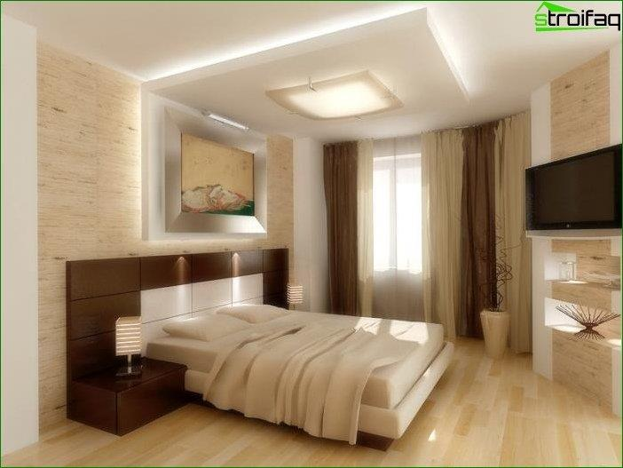 Design ceiling bedroom