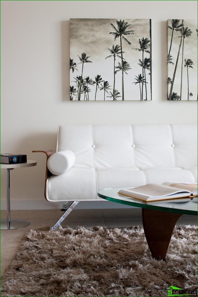 Kreativ inställning till väggdekor med modulära målningar