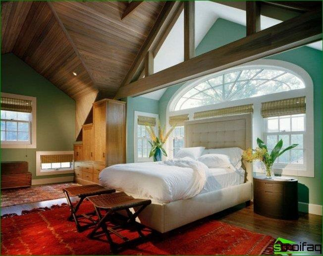 High headboard will help to close the window and get rid of the discomfort