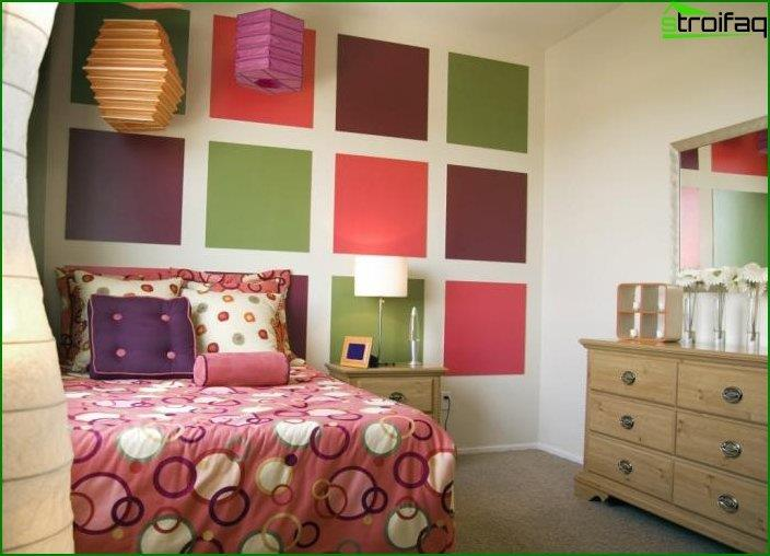 Interior design of a bedroom for children 7