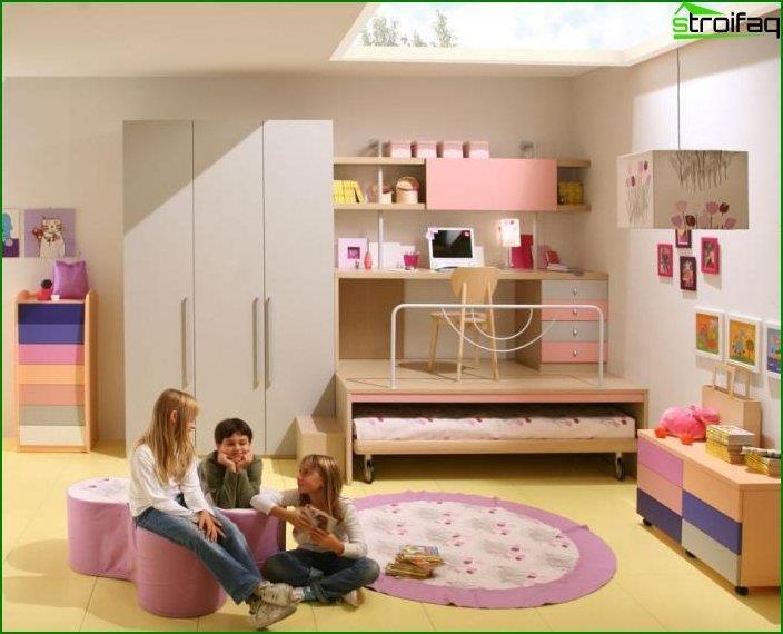Спальня для дівчинки 2