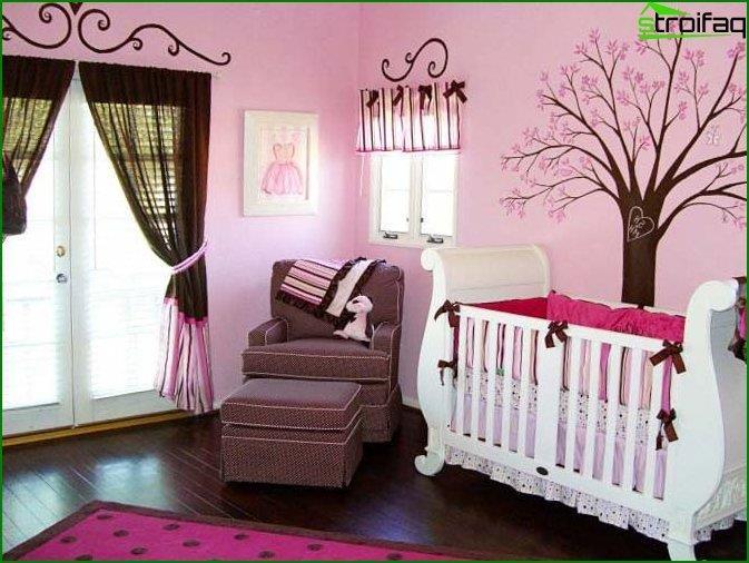 Спальня для дівчинки 9