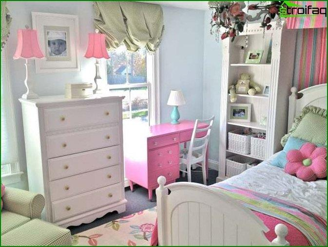Bedroom for a girl 10