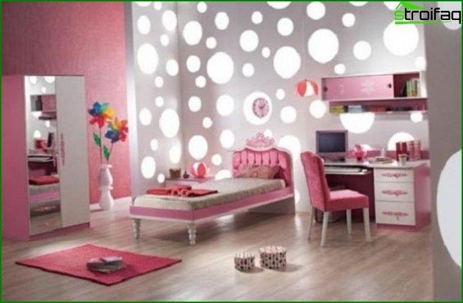 Дитяча спальня для дівчинки - інтер'єр 2