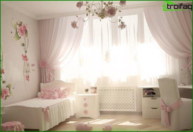Дитяча спальня для дівчинки - інтер'єр 3