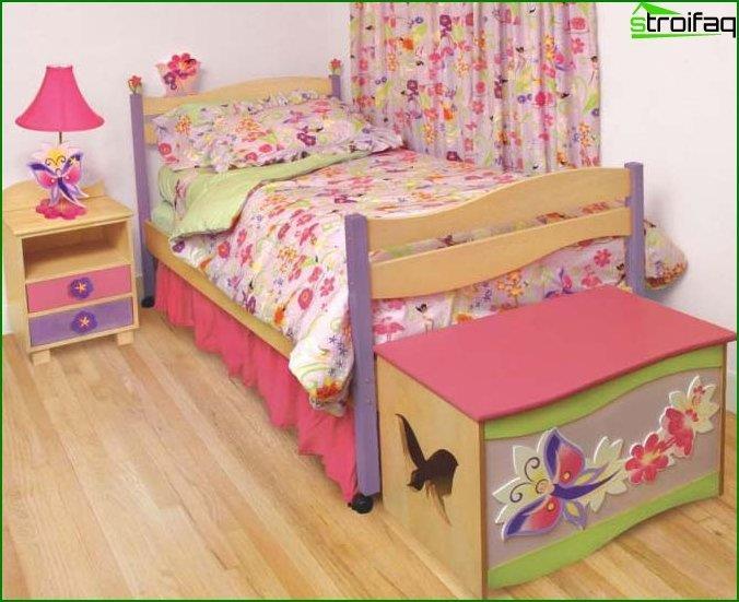 Дитяча спальня для дівчинки - інтер'єр 4