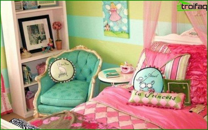Children's bedroom for girls - interior 5