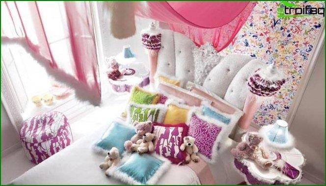 Дитяча спальня для дівчинки - інтер'єр 6