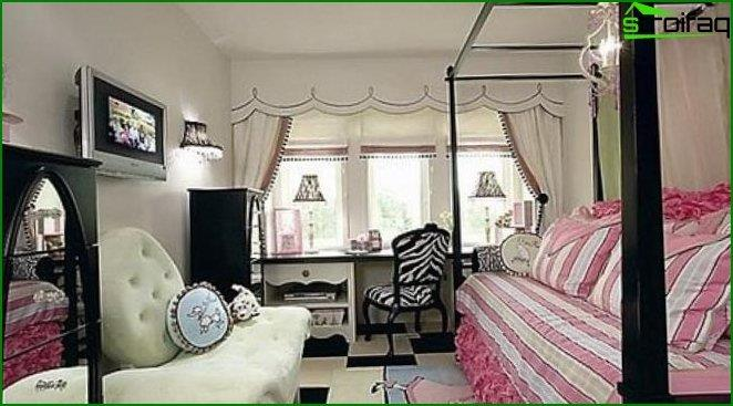 Children's bedroom for girls - interior 7