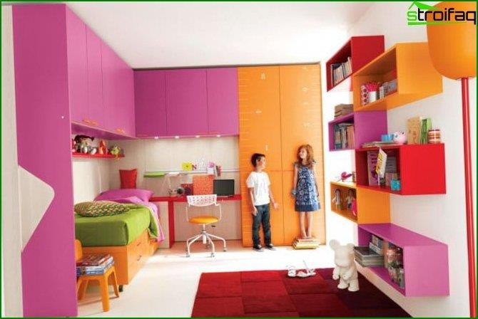 Children's bedroom for a girl - interior 8