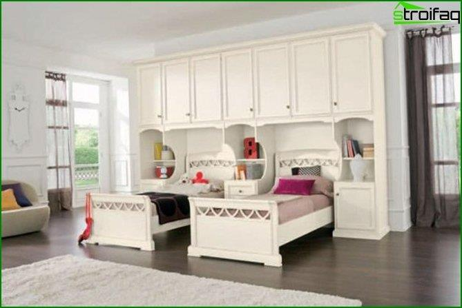 How to make room interior for two girls 4