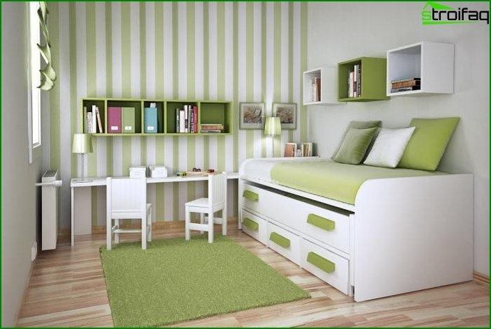 How to arrange a children's room in Khrushchev