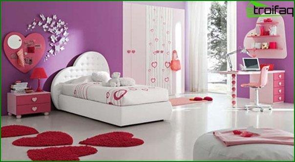 Кімната для дівчинки - фото 1