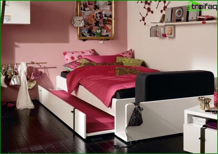 Інтер'єр кімнати для дівчинки 4