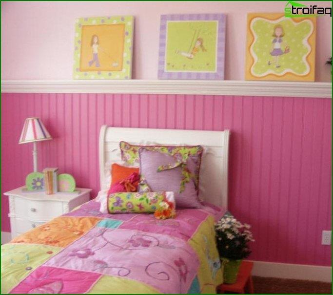 Інтер'єр дитячої кімнати 4