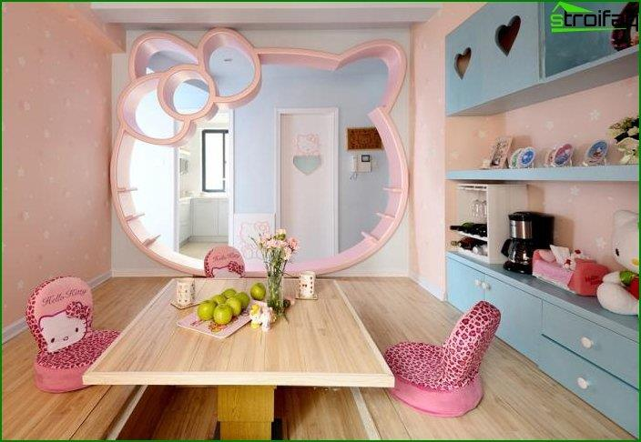 Design of a room for a girl 1