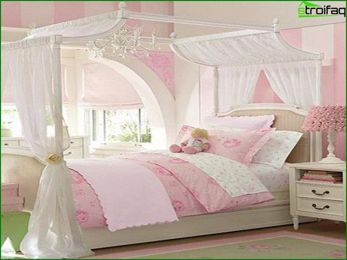 Design of a room for a girl 2