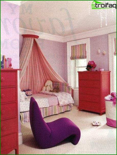 Design of a room for a girl 4