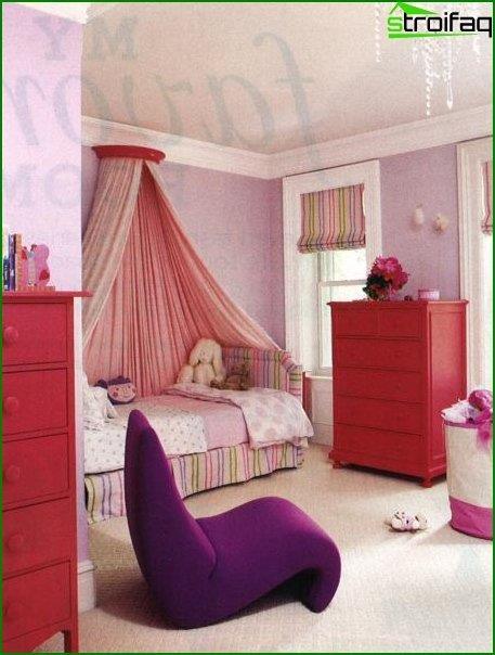 Дизайн кімнати для дівчинки 4