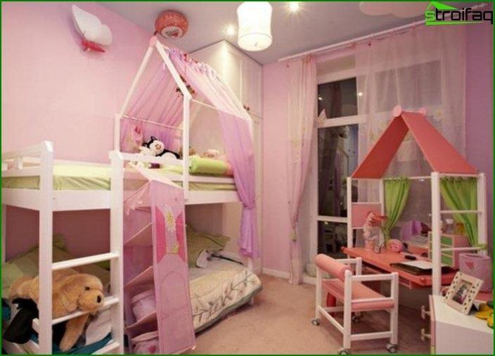 Дизайн кімнати для дівчинки 5