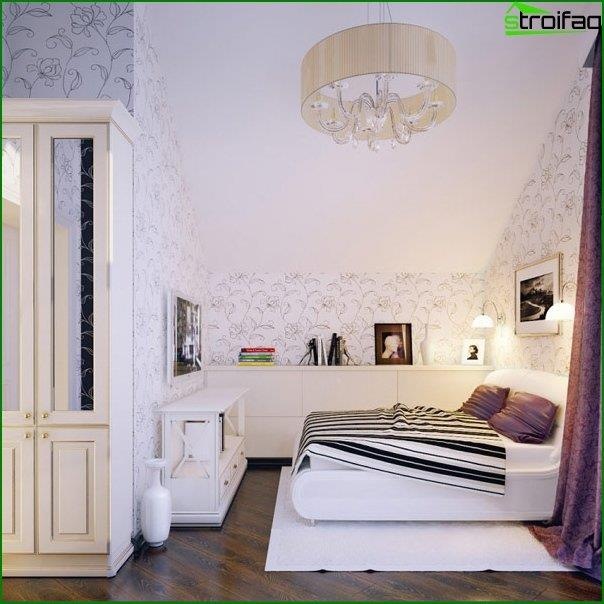 Design of an interior of a children's bedroom 1