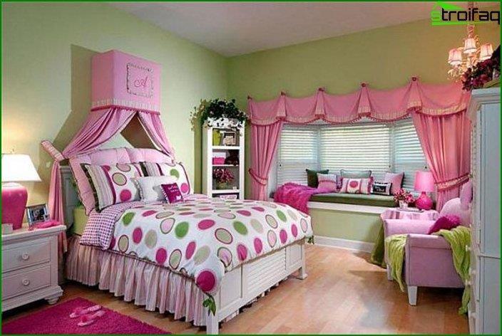 Дизайн інтер'єру дитячої спальні 3