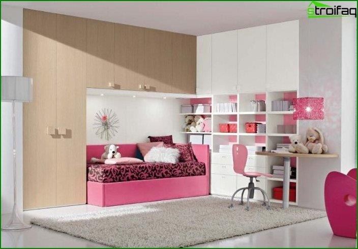 Design of an interior of a children's bedroom 4