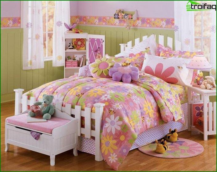 Дизайн інтер'єру дитячої спальні 5