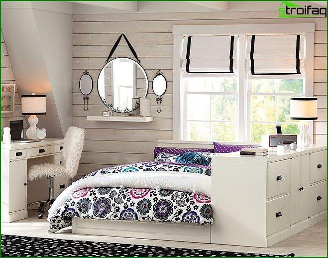 Interior design of children's bedroom 6