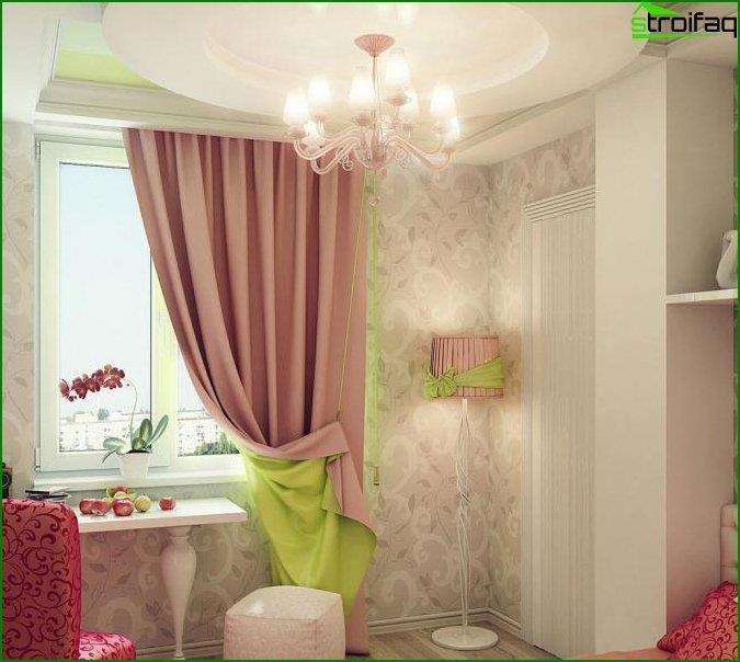 Дизайн інтер'єру дитячої спальні 7