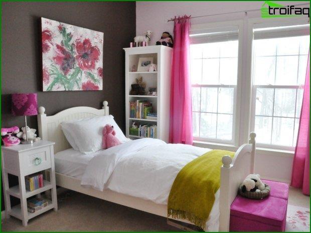 Дизайн інтер'єру спальні для дітей 4