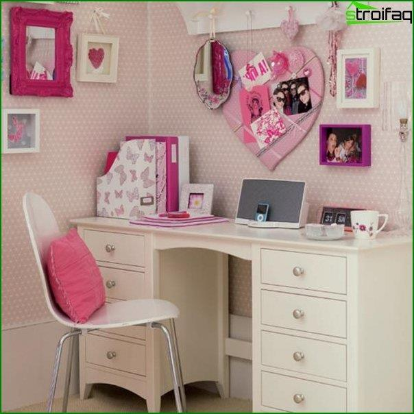 Interior design of a bedroom for children 6