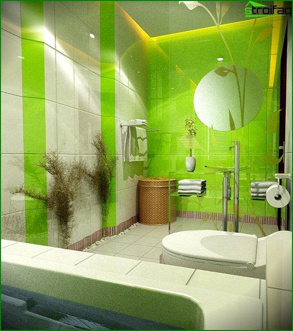 Green Tiles - 5